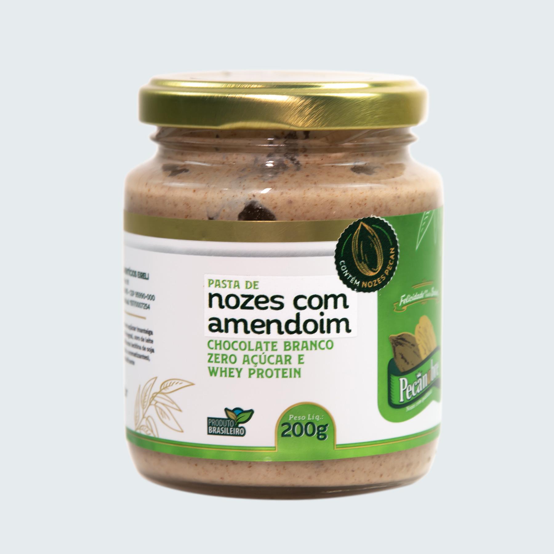 PASTA DE NOZES COM AMENDOIM CHOCOLATE BRA...